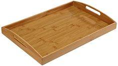 Zeller Serviertablett, Bamboo / 44 x 30 x Tray, Breakfast Tray, Kitchen Fixtures, Afternoon Snacks, Trays, Food, Breakfast In Bed, Household, Board