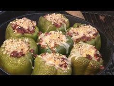 ▶ Stuffed Peppers by the BBQ Pit Boys - YouTube