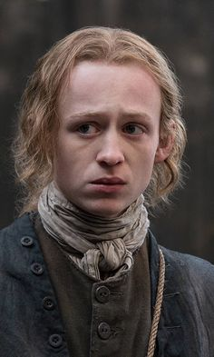 Looks nothing like I imagined him when I read the series . Young Ian in Season 3 Voyager of Outlander on Starz Claire Fraser, Jamie Fraser, E Claire, Outlander Book 3, Outlander Casting, Sam Heughan Outlander, Voyager Outlander, Outlander Quotes, John Bell