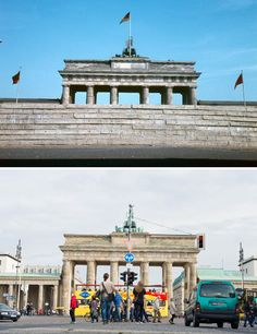 The Berlin Wall: Photos of then and now The Local