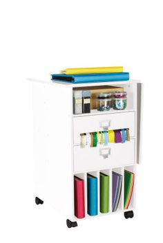Mobile Craft storage - for my craft closet! At Michaels.  sc 1 st  Pinterest & Recollections Mobile Craft Storage Center | Mobile craft Craft ...