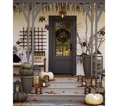 Porch decor from Pottery Barn ~
