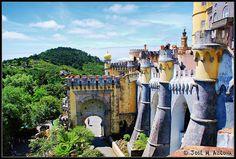 Sintra (Portugal). Palacio da Pena. by josemazcona, via Flickr