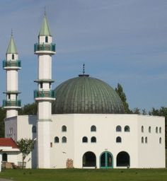A mosque in Malmo, Sweden