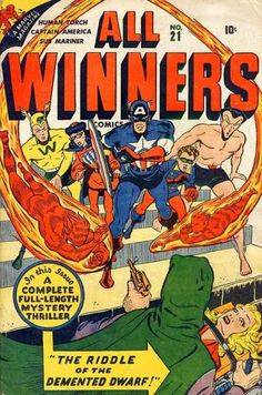 All Winners Comics 21