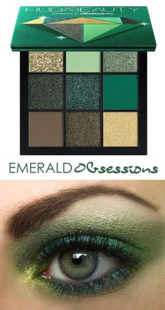 Emerald Green eyeshadow palette, expertly curated by Huda herself, offering beauty lovers a stunning complete day-to-night green eye color. Great for Winter Wedding, Mardi Gras Wedding Bridesmaids. Best Green Eyeshadow Palette 2021. Huda Beauty Emerald Obsessions Eyeshadow Palette. Green Mardi Gras Make Up Ideas 2021. Mardi Gras Make Up Ideas Inspiration 2021. Mardi Gras Wedding Make Up 2021. Mardi Gras Weddings. Mardi Gras Bridesmaids Outfits 2021. Mardi Gras Party Make Up 2021. Huda Beauty