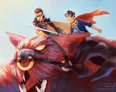 Supersons and Goliath by EavesChou