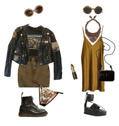 """""""ii"""" by evilserpent ❤ liked on Polyvore featuring Monki, Roberto Cavalli, Vionnet, Etro, Jeffrey Campbell and Fendi"""