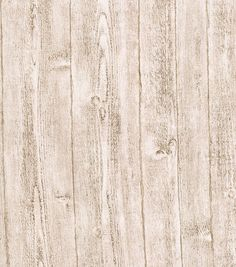 White Rustic Barnboard Wallcovering at Joann.com.  I really like this.