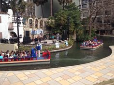 San Antonio Riverwalk Stage, hosts many festivals and bands