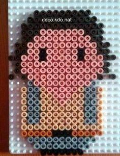 Han Solo Star Wars hama perler beads by Deco.Kdo.Nat