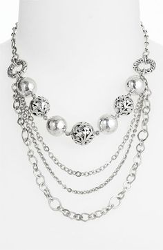 Lois Hill Multi Chain Necklace, 627024
