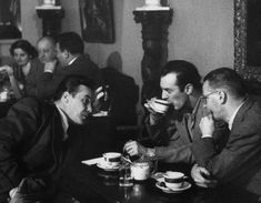 vintage everyday: Old Photos of NYC Coffee Shops