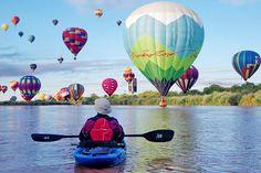 Albuquerque International Balloon Fiesta Kayak Tours
