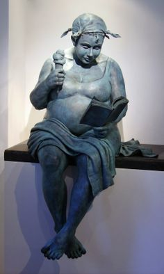 Véronique Clamot (Date of birth: june Charleroi - Belgium) Study: Graduate of Illustrator at St. Sculptures Céramiques, Art Sculpture, Modern Sculpture, Bronze Sculpture, Art Bizarre, Art Du Monde, Reading Art, Woman Reading, Statues