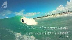 Tente mover o mundo - o primeiro passo será mover a si mesmo.  #nellihand #handsurf #bodysurf #handplane #handboard #surf