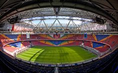 I have not been but my hubby and son have been.  Ajax - Amsterdam Arena - NL