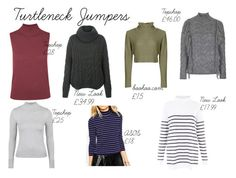 """""""Turtle Neck Jumpers"""" by rachaelwalton on Polyvore featuring Topshop and ASOS"""