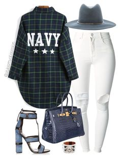 Untitled #1603 by dnicoleg on Polyvore featuring polyvore fashion style (+) PEOPLE Tom Ford Hermès Janessa Leone clothing