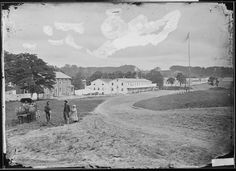Cavalry depot at Giesboro, 1863