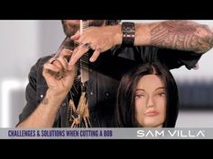 ▶ Challenges and Solutions When Cutting a Bob - YouTube