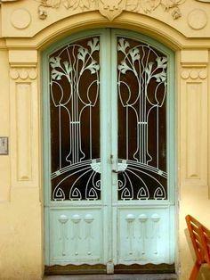 Art Nouveau Door by viola