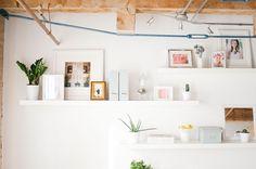 Espacio de trabajo para dos con presupuesto low cost         |          La Garbatella: blog de decoración de estilo nórdico, DIY, diseño y cosas bonitas.