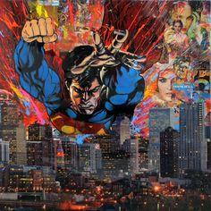 Superman Soars Over Denver - DeVon