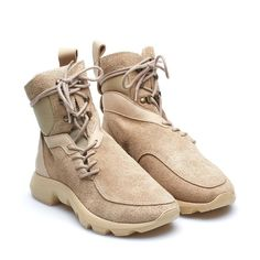 Stivaletto Dune-Exp dalla collezione A/I2016-17 Casbia in beige Shoes 2016, Men's Shoes, Shoes Sneakers, Clarks Desert Boot, Desert Boots, Mens Ankle Boots, Combat Boots, Futuristic Shoes, Shoe Room