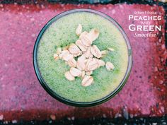 Peaches and Green Smoothie I got up this morning ready to take on the world! I hit my pace times for my 10 mile run with a fast finish (f yeah!). My range was to be 8:25-8:40 pace. I averaged 8:34! My splits were: 8:28/ 8:16/ 8:47/ 8:27/ 8:45/ 8:19/ 8:27/ 8:34/ 8:54/ 7:29  I was feeling good. The kind of run where you just float on by, can't stop smiling and are just in the zone.  I came home and whipped up this smoothie for some refuel. (Thanks Michelle for naming it via Instagram!) 1 ...