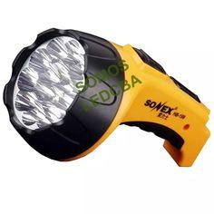 linterna led recargable 15 leds sonex 20 horas ledcba oferta Bicycle Helmet, Led Flashlight, Products, Cycling Helmet