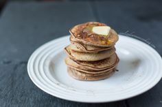 Paleo Pancakes (made with only bananas, eggs, nut butter, and cinnamon)