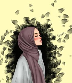 The actual scarf is the most essential item inside outfits of ladies along with hijab. Girly Drawings, Cartoon Drawings, Girl Cartoon, Cartoon Art, Cartoon Memes, Cartoon Characters, Tmblr Girl, Instagram Cartoon, Hijab Drawing