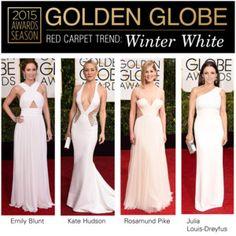 Golden Globes 2015: Winter White