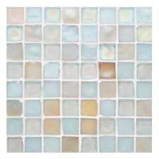 Oceanside Glasstile - Tessera - Mosaic Blends Master bath - Beach Blonde