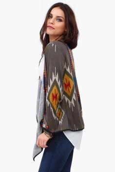 Phoenix Wrap Sweater