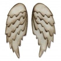 Sizzix Bigz L Die - Feathered Wings