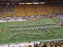 SDMB Pitchfork Drill Formation - The Arizona State University Sun Devil Marching Band, The Pride of the Southwest