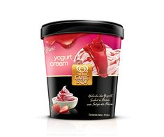 Packaging concept creation for the Heart Brand, Unilever ice cream - Tio Rico/Carte Do'r in Venezuela.