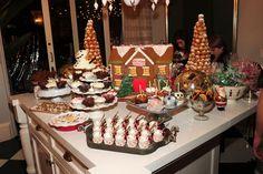 Desert table at Kardashian 2012 Xmas Party