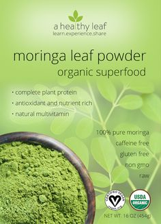 moringa powder  add to smoothies and other recipes good price