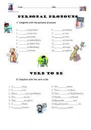exercise verb to be printable - Buscar con Google