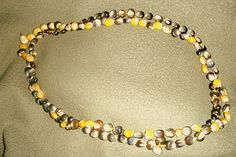 Indian Corn Necklaces from Living and Learning at Home