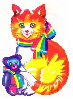 =^. .^= Lisa Frank Cats =^. .^=