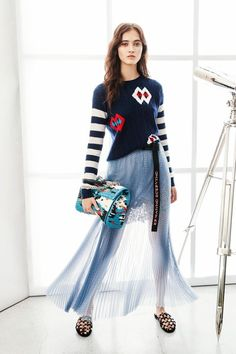 2764eb6d0 spring 2017: лучшие изображения (39)   Ladies fashion, Fashion women ...