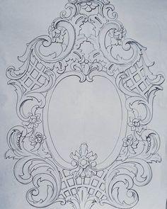 Stencil baroque