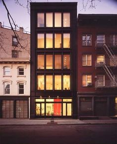 Transect T5 | Urban Center | Tribeca Townhouse