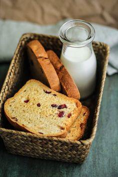 fette biscottate ai mirtilli rossi | recipe by Vanigliacooking