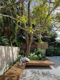 22 Marvelous Winter Garden Design For Small Backyard Landscaping Ideas — TERACEE – Elaine - New ideas Backyard Seating, Backyard Garden Design, Small Backyard Landscaping, Small Garden Design, Garden Seating, Terrace Garden, Backyard Patio, Small Patio, Backyard Ideas