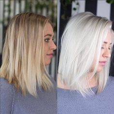 """WEBSTA @ olaplex - Time for a formula! We had to find out how @alexanderscotthair transformed his client to such a gorgeous platinum. Here are all the details:Color by @alexanderscotthairTotal ⏱time: 3.5 hours FORMULA // Starting on level 6 with balayage highlights. Formula Redken flashlift 30 volume Olaplex No.1. Formula 2 Redken shades EQ gloss 09P 09NB clear. I used meche sheets to isolate 1/8"""" sections and apply the lightener only to the natural hair 1/2"""" off the scalp, working"""